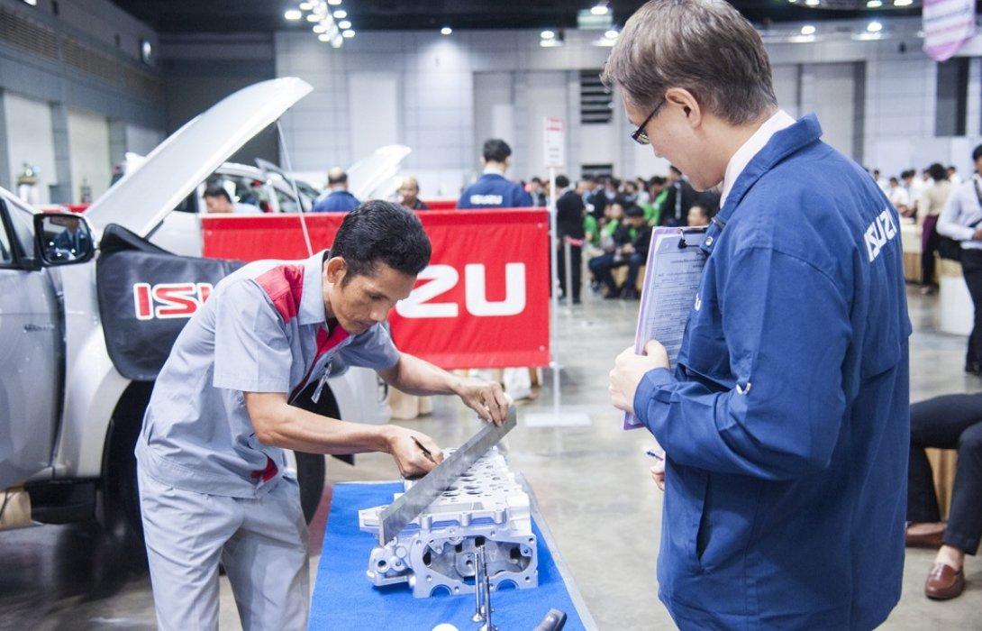 อีซูซุจัดการแข่งขันทักษะด้านการขายและบริการหลังการขาย มุ่งเป้าเพิ่มประสิทธิภาพให้กับผู้จำหน่าย