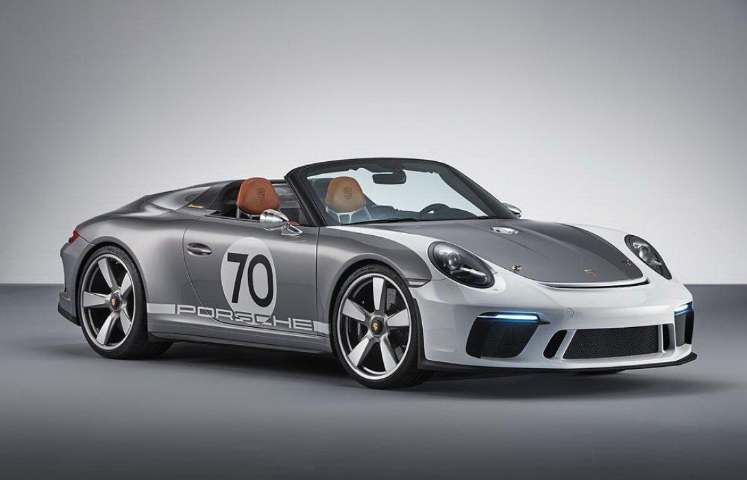 เปิดตัวปอร์เช่ 911 Speedster Concept รุ่นใหม่ สปอตพันธุ์แท้แบบเปิดประทุน500แรงม้า