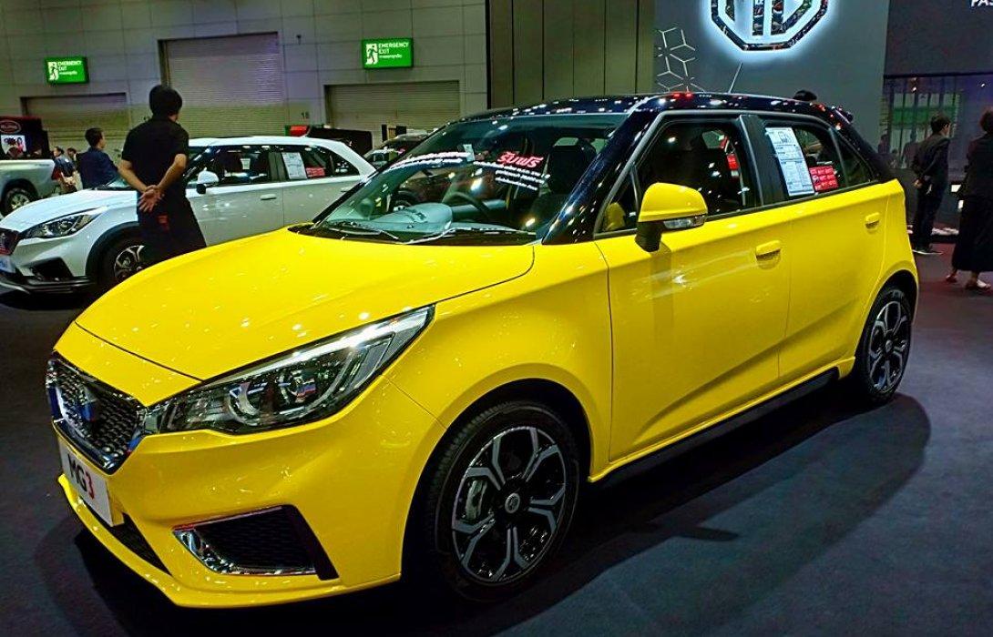 MG สปีดความสนุก ยกขบวนความสมาร์ท พร้อมข้อเสนอสุดพิเศษเข้างาน Big Motor Sales 2018