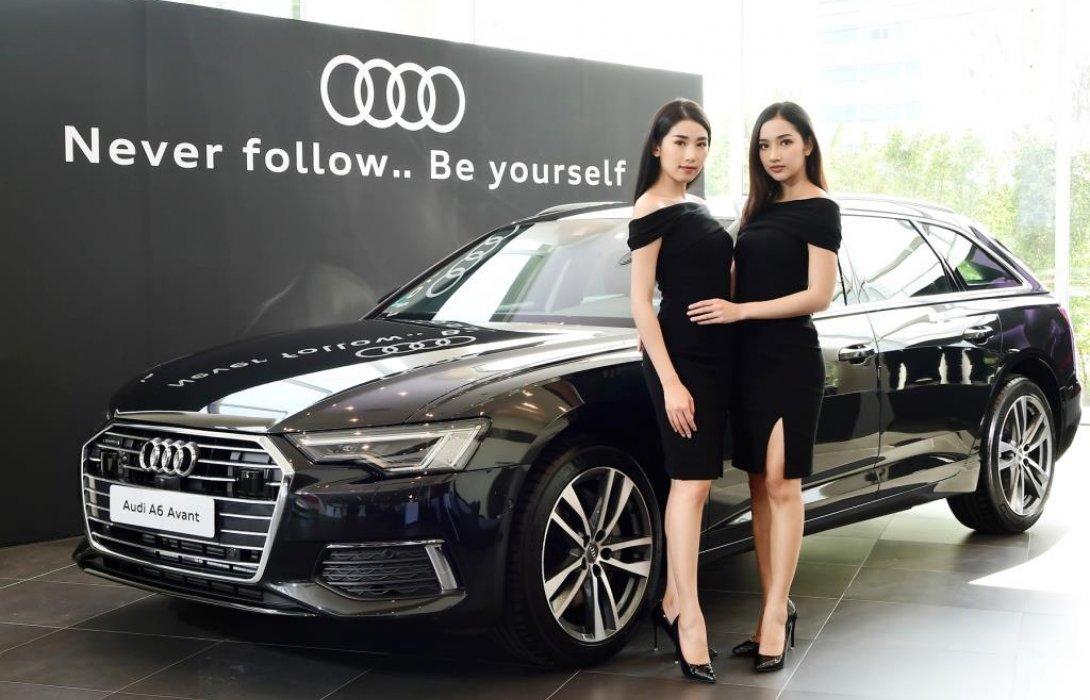 Audi Thailand เผยโฉม Audi  A6 Avant ใหม่ เคาะราคาสุดเซอร์ไพรส์ 4.999 ล้านบาท