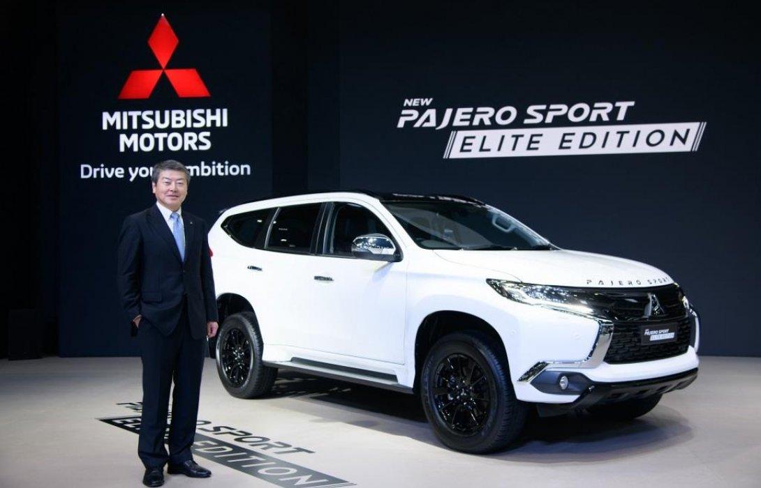 มิตซูบิชิ ปาเจโร สปอร์ต ก้าวสู่อันดับ 1 ในกลุ่มรถยนต์อเนกประสงค์สมรรถนะสูงขนาดใหญ่