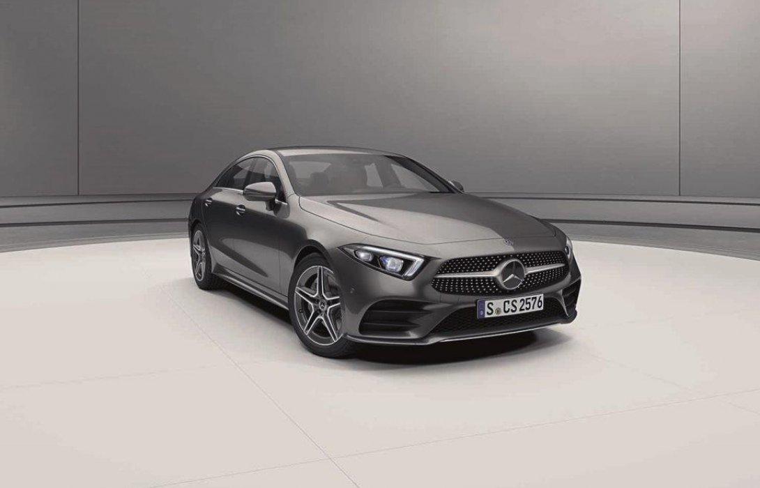 เมอร์เซเดส-เบนซ์ เปิดตัวยนตรกรรมสปอร์ตหรู  Mercedes-Benz CLS รุ่นประกอบในประเทศ
