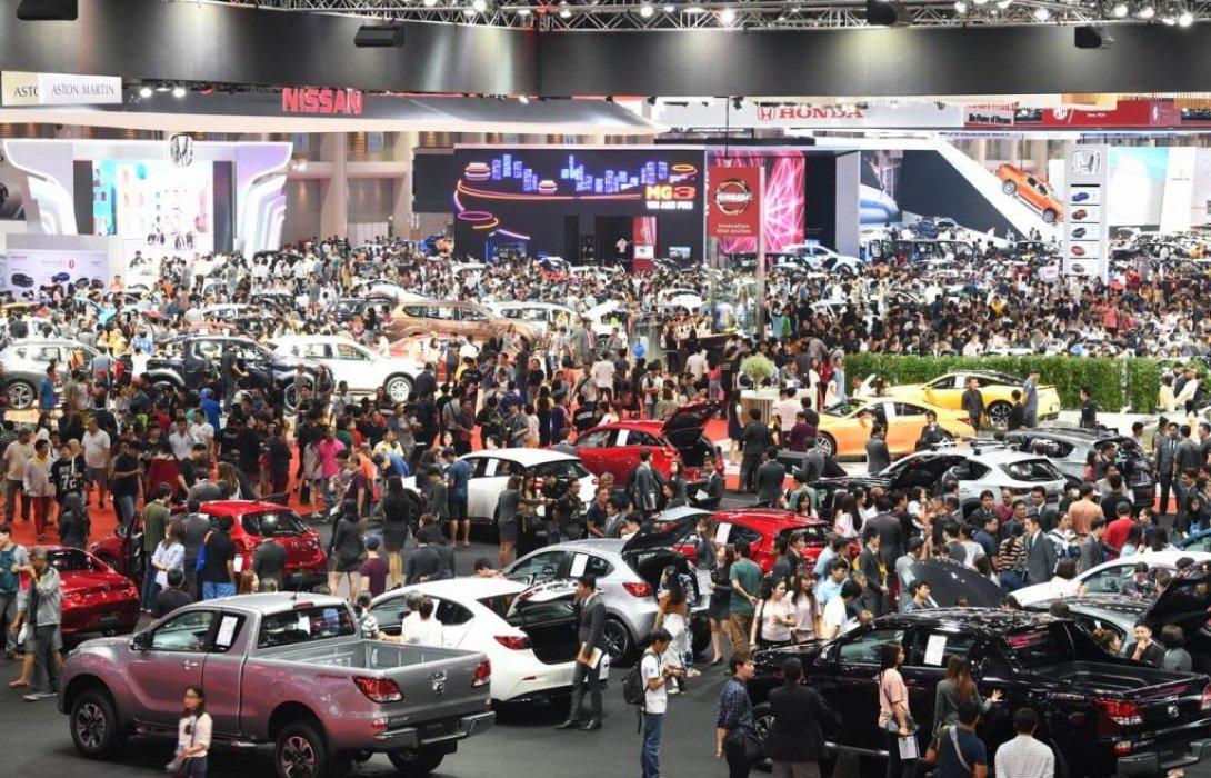ค่ายรถเผยยอดจองมอเตอร์โชว์4.9หมื่นคันโตเพิ่ม15%
