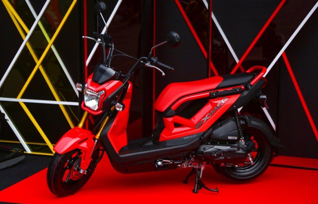 เอ.พี.ฮอนด้า ชวนวัยรุ่นไทยออกมาสนุกนอกกรอบ! เปิดตัว New Honda Zoomer-X