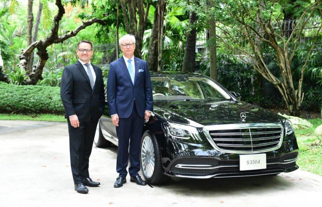 เมอร์เซเดส-เบนซ์ เดินหน้าธุรกิจกลุ่มลูกค้าองค์กร จับมือ 6 โรงแรมห้าดาวชั้นนำของเมืองไทย