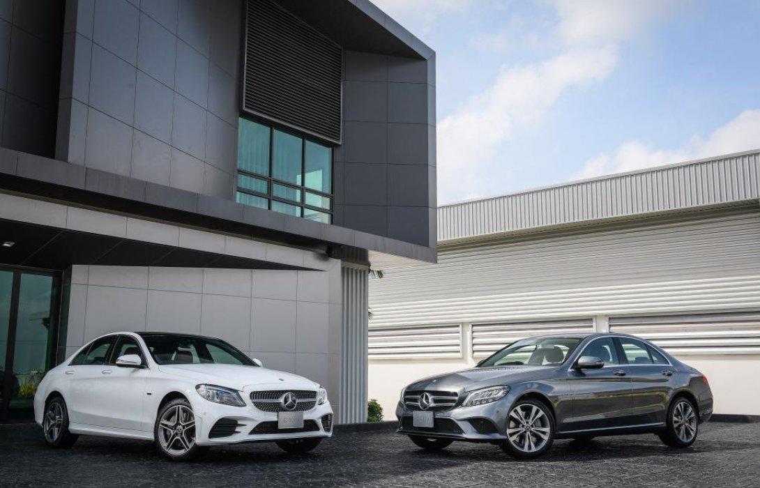 เมอร์เซเดส-เบนซ์ เปิดตัวรถยนต์ ปลั๊กอินไฮบริดเจนเนอเรชั่นที่3 Mercedes-Benz C 300 e รุ่นประกอบในประเทศ