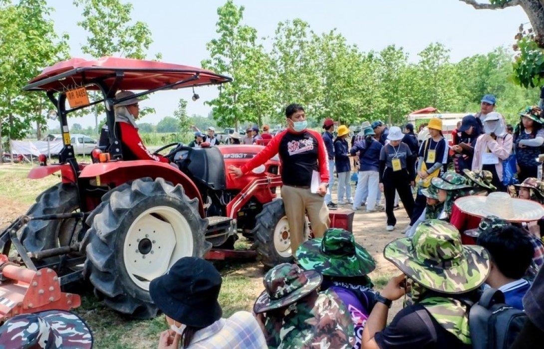 ยันม่าร์ ร่วมกับคณะเกษตรศาสตร์ มหาวิทยาลัยเชียงใหม่ จัดฝึกอบรมเครื่องจักรกลการเกษตรสมัยใหม่