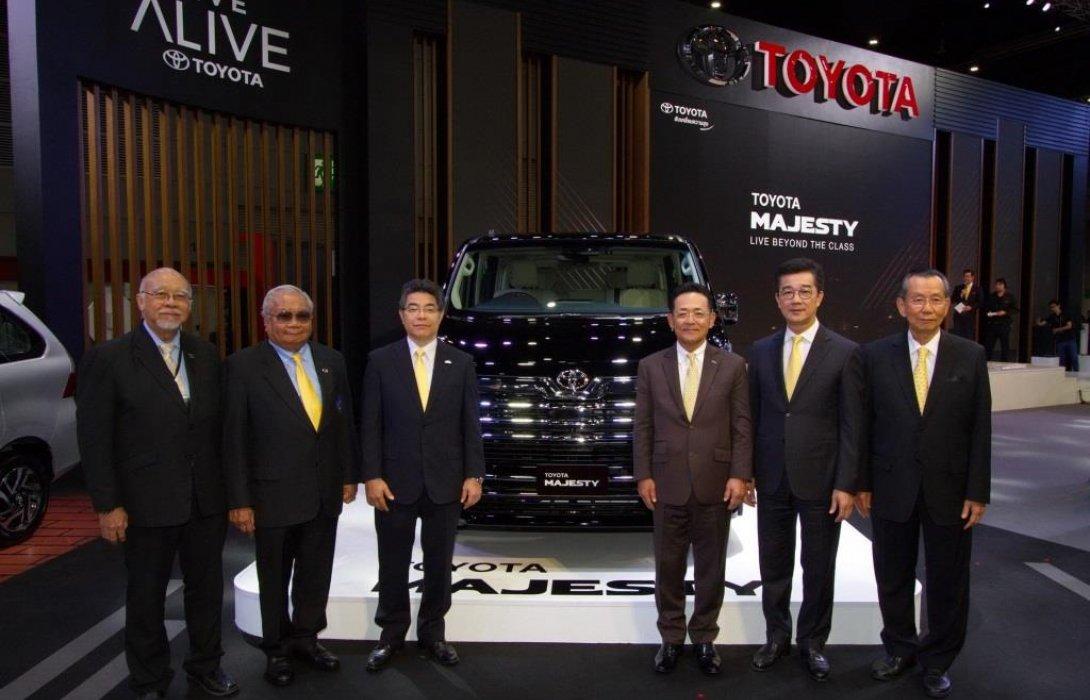 """โตโยต้า เปิดตัว Toyota Majesty""""Live Beyond the Class"""""""