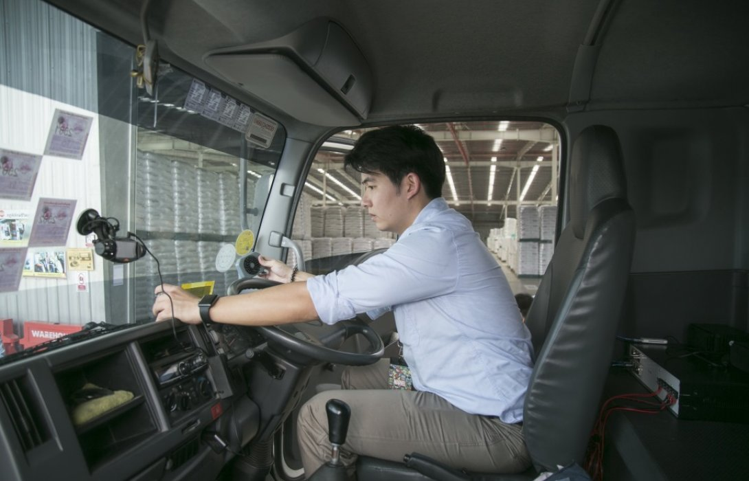 """""""ขับดี""""นวัตกรรมเพื่อการขับขี่ปลอดภัย โดยธุรกิจเคมิคอลส์ เอสซีจี"""