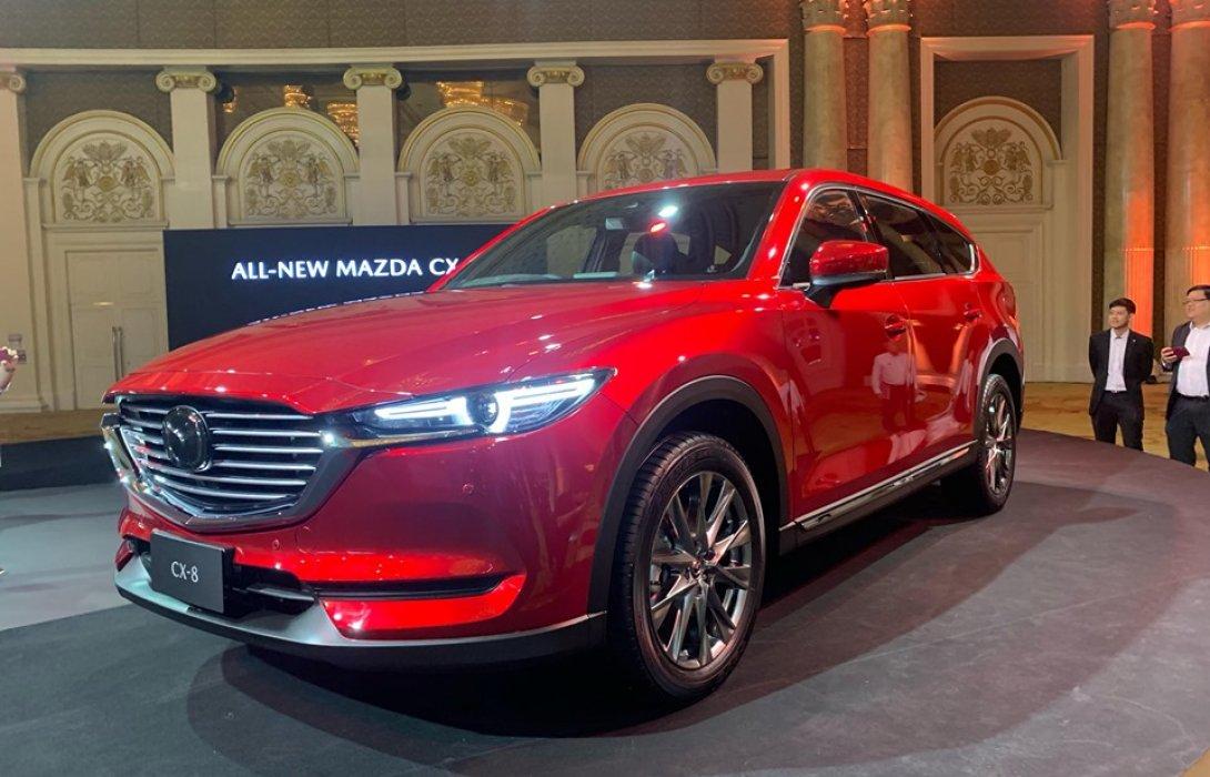 มาสด้าเปิดตัวAll-New Mazda CX-8พรีเมียม3-Row CrossoverSUVสะท้อนภาพลักษณ์แห่งความภูมิฐาน