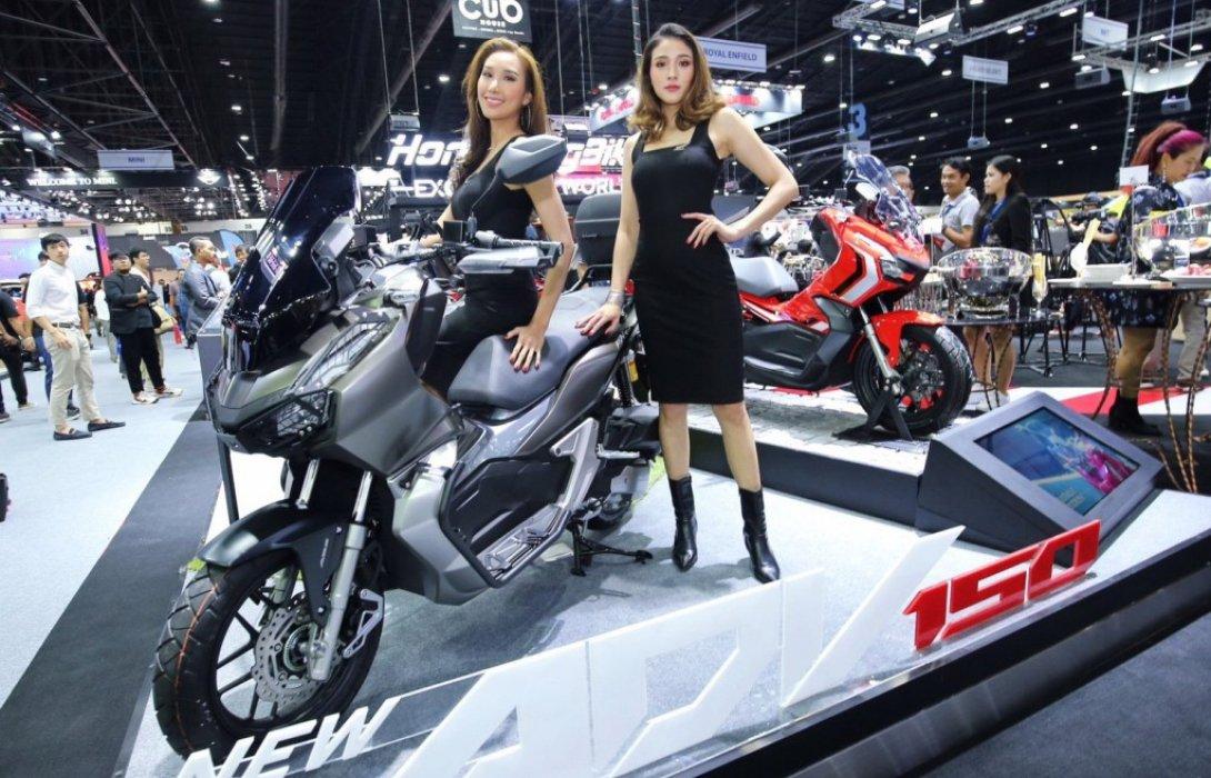Honda ADV150 ร้อนแรงสุด ดันยอดจองมอเตอร์ไซค์ฮอนด้าครองเบอร์หนึ่ง มอเตอร์ เอ็กซ์โป 2019