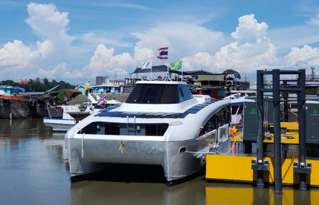 "EA""MINE Smart Ferry""เรือพลังงานไฟฟ้าลำแรกของไทย พร้อมให้บริการแล้ว"