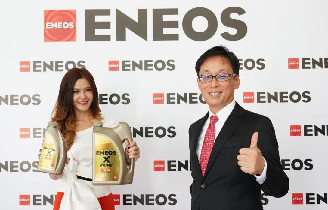 เจเอ็กซ์ นิปปอน ออยล์ แอนด์ เอเนอจี เปลี่ยนชื่อเป็น เอเนออส พร้อมเปิดตัวน้ำมันเครื่อง ENEOS X PRIME