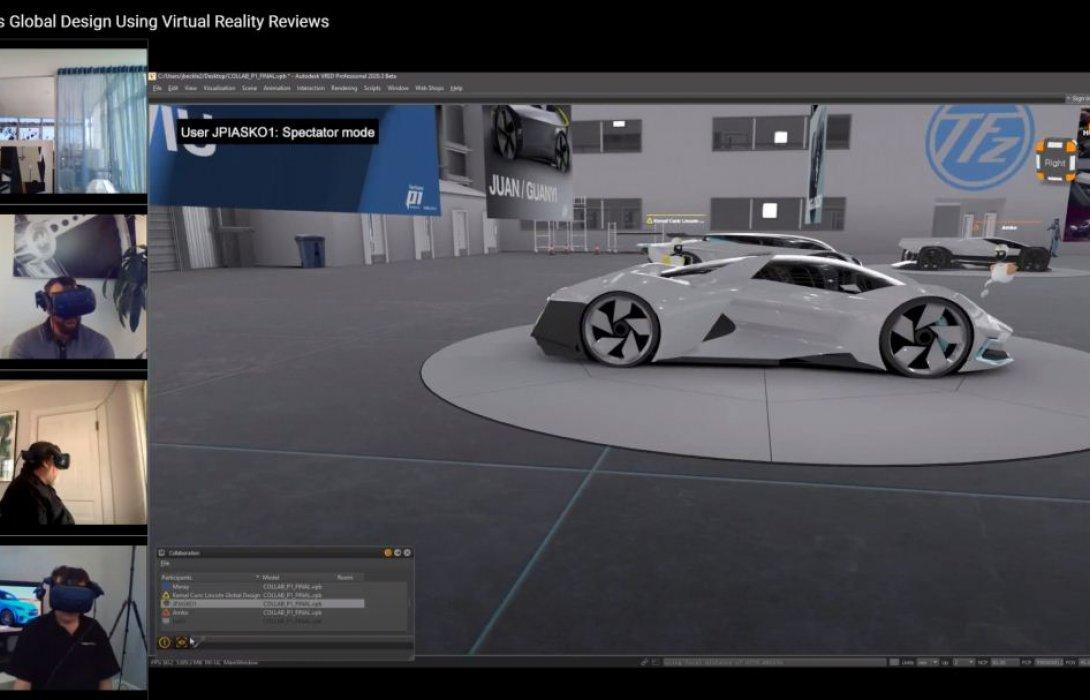 ทีมนักออกแบบรถฟอร์ดใช้เทคโนโลยีเสมือนจริงสุดล้ำร่วมกันออกแบบรถรุ่นใหม่ระหว่างทำงานที่บ้าน