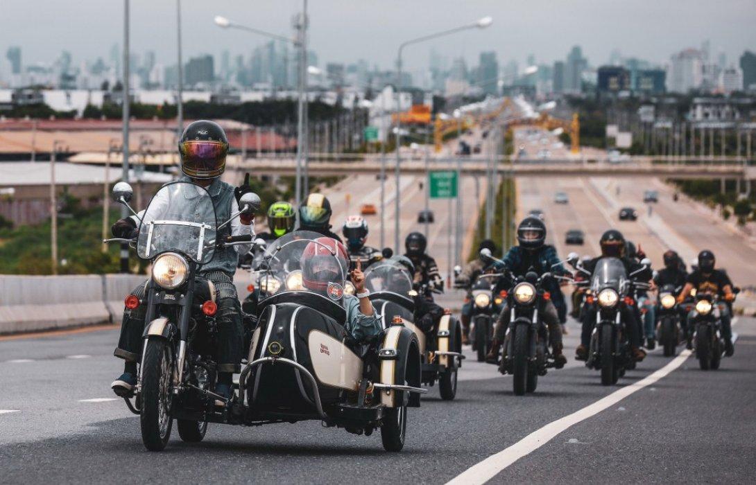รอยัล เอนฟิลด์ One Ride 2021ครั้งที่ 10 ของกิจกรรมขับขี่พร้อมกันทั่วโลก