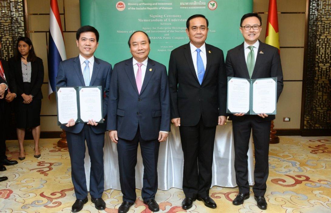 กสิกรไทยจับมือสสว.เวียดนาม ดันเอสเอ็มอีเวียดนาม เพิ่มมูลค่าการค้าและการลงทุนระหว่างประเทศ