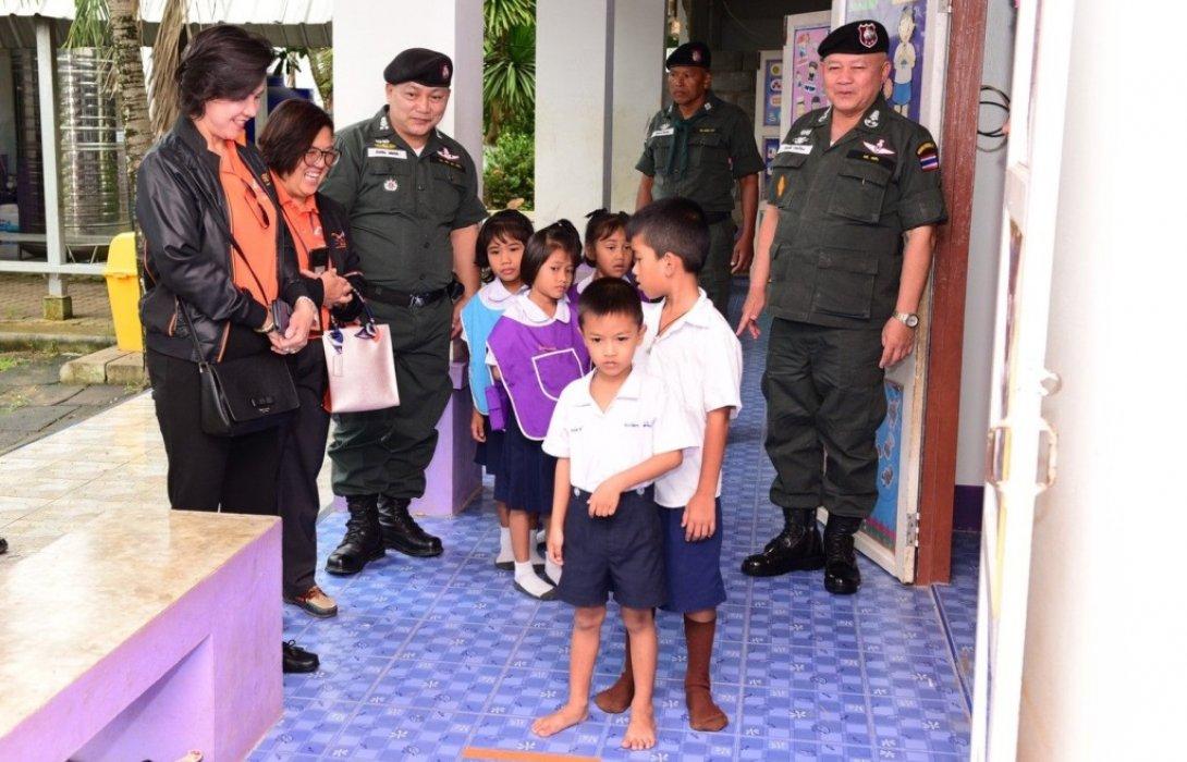 ธอส.จับมือ ตชด.ตรวจเยี่ยมประเมินการสอนภาษาอังกฤษเด็กอนุบาล โรงเรียน ตชด.ในพื้นที่ห่างไกล