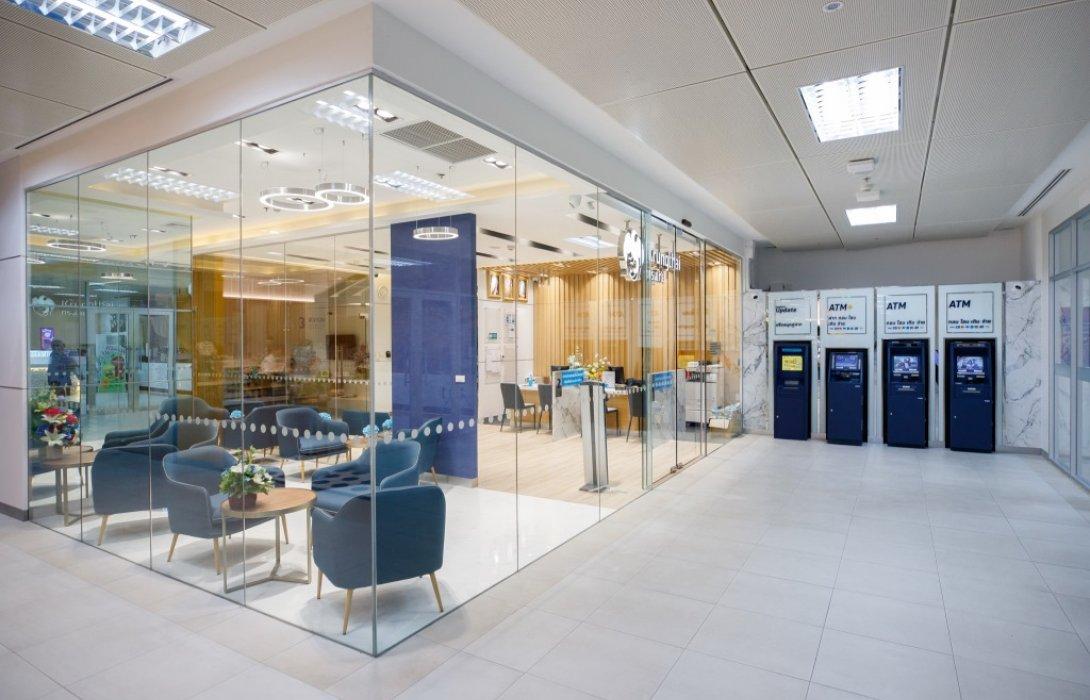 ธนาคารกรุงไทย เปิดศูนย์บริการที่โรงพยาบาลศิริราช พร้อมมอบเงินบริจาค 40 ล้านบาท