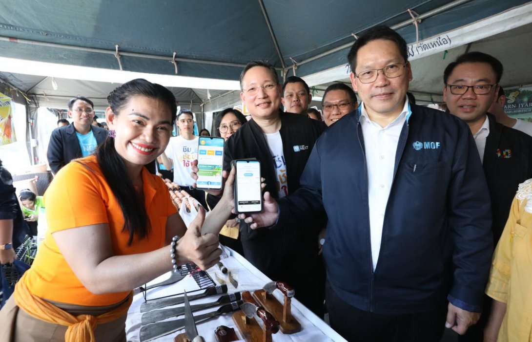 กรุงไทยเดินหน้า ชิม ช้อป ใช้ G-Wallet 2 ลุยเมืองกาญจน์หนุนร้านค้าดันยอดใช้จ่ายพุ่ง 7%