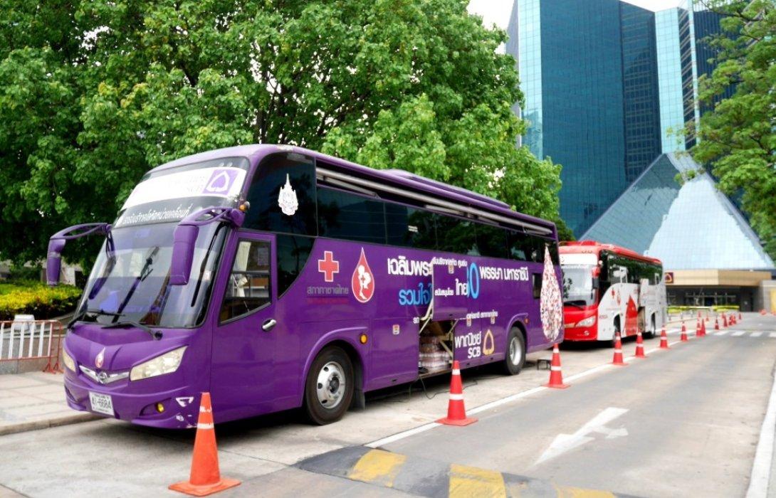 ธนาคารไทยพาณิชย์ร่วมกับศูนย์บริการโลหิตแห่งชาติ สภากาชาดไทย ขอเชิญร่วมบริจาคโลหิต