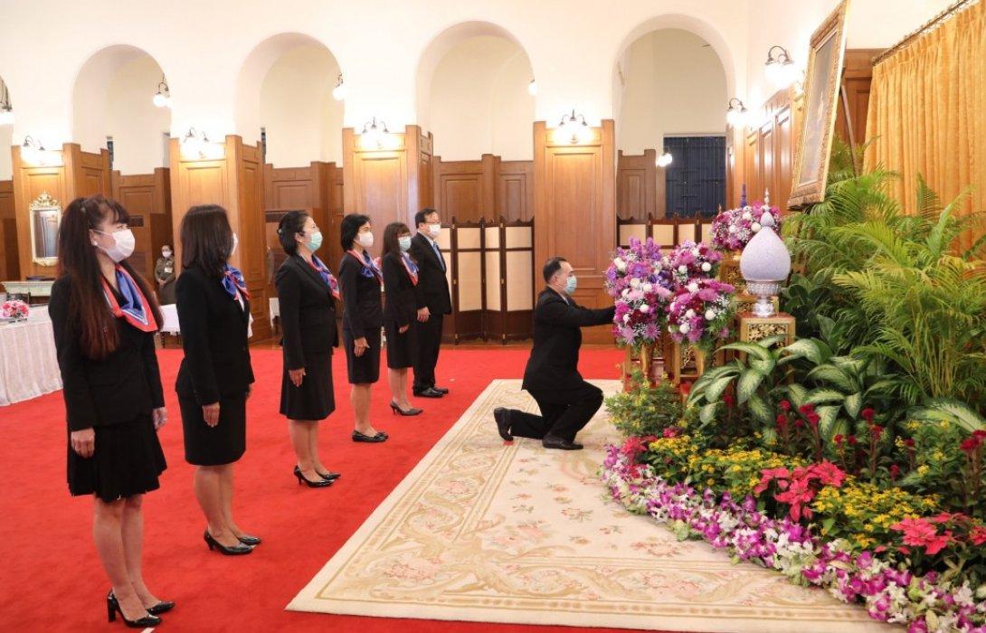 EXIM BANK ลงนามถวายพระพรสมเด็จพระกนิษฐาธิราชเจ้า กรมสมเด็จพระเทพรัตนราชสุดาฯ