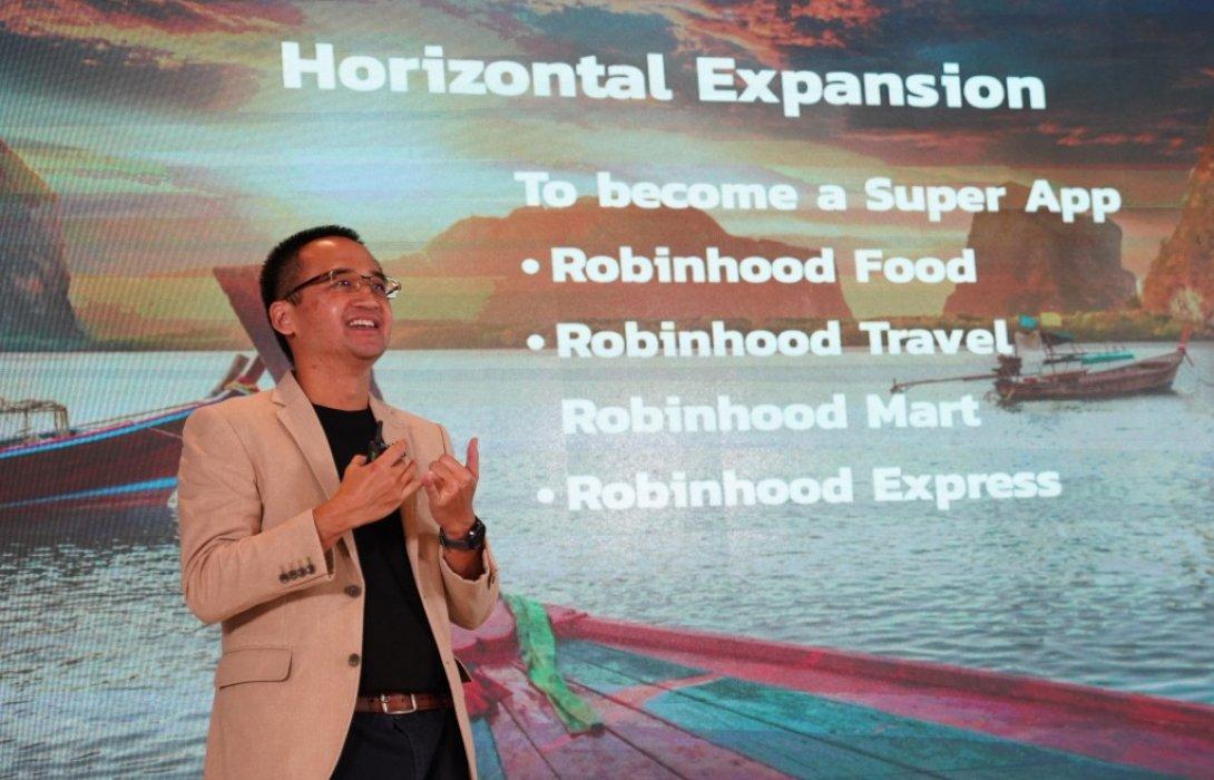 """""""โรบินฮู้ด"""" ปลื้ม 1 ปี เติบโตทุกมิติ เตรียมขยายสู่ธุรกิจ Non-Food"""