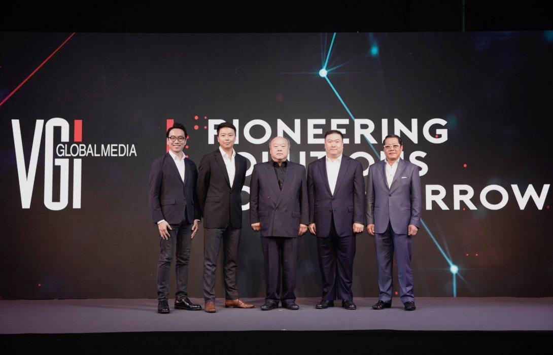 """วีจีไอ เปิดวิสัยทัศน์ """"Pioneering Solutions for Tomorrow""""ดันรายได้แตะ 10,000 ล้านใน3ปี"""