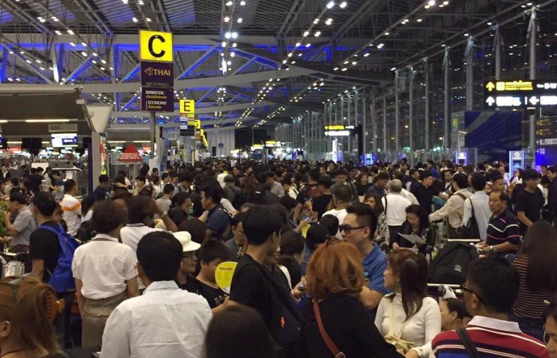 ทอท.ปลื้มเทศกาลปีใหม่คนทะลักสนามบินกว่า 2.95 ล้านคน