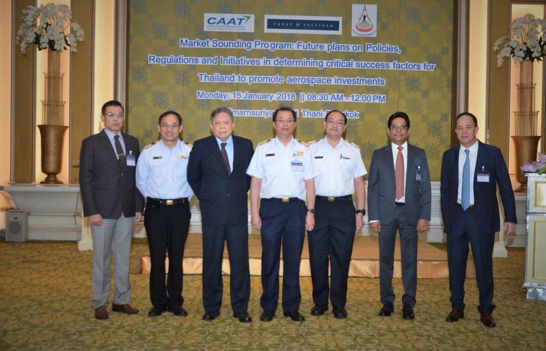 กพท.ชวนนักลงทุน ลุยอุตฯ การบินในไทย วาดฝัน 20 ปี รายได้ทะลุ 1.5 ล้านล้าน