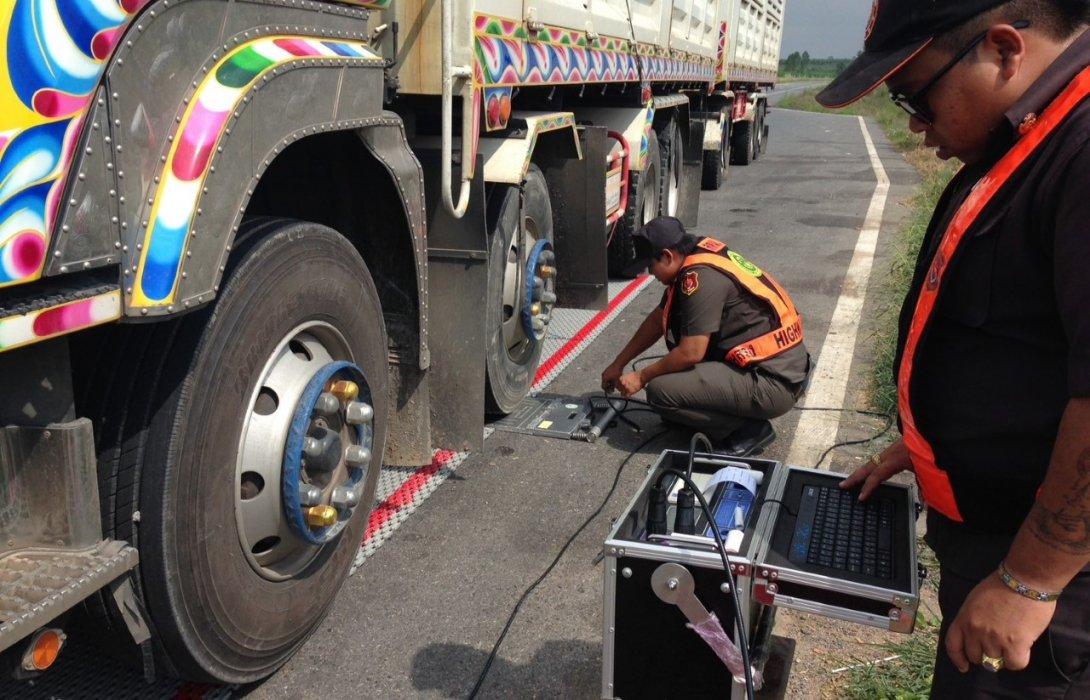 รถบรรทุกน้ำหนักเกินเพียบ! กรมทางหลวงจับกุมได้ 6,552 คัน
