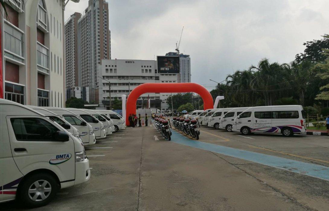 กรมขนส่งฯ-ขสมก. ปล่อยขบวนรถตู้โดยสารใหม่ <br> ประชาชนอ่วม! ปรับค่าตั๋วรถเมล์เพิ่มอีก 2 บาท เริ่ม 15 ต.ค. 61