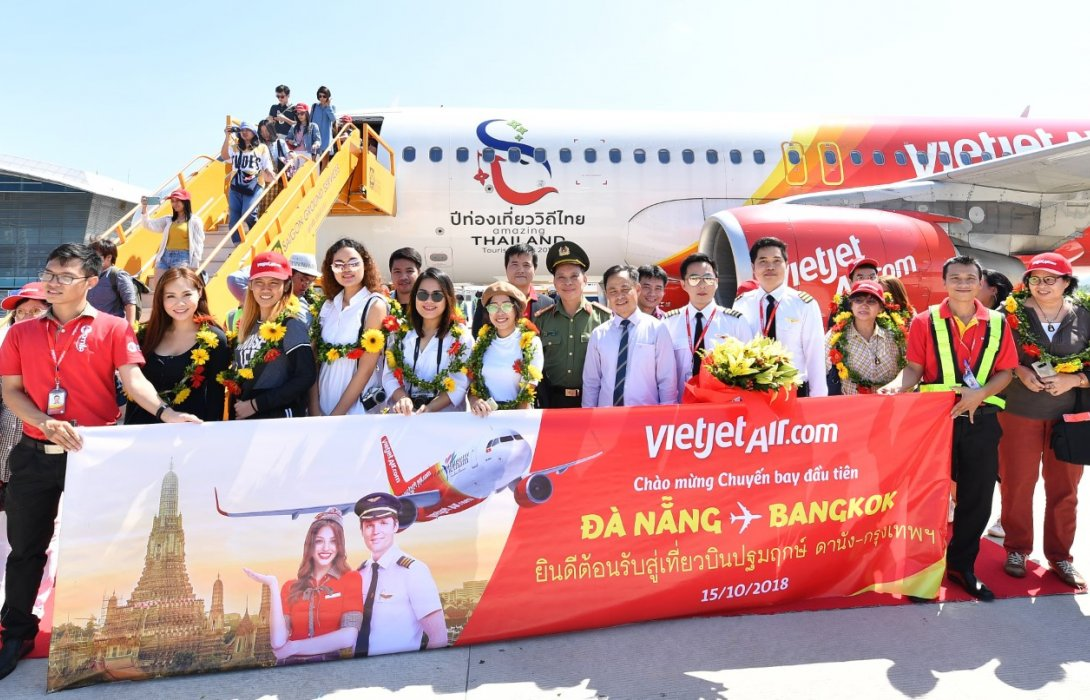 ไทยเวียตเจ็ทฉลองเที่ยวบินปฐมฤกษ์ กรุงเทพฯ – ดานัง ด้วยโปรบัตรโดยสารราคาสุดช็อก!