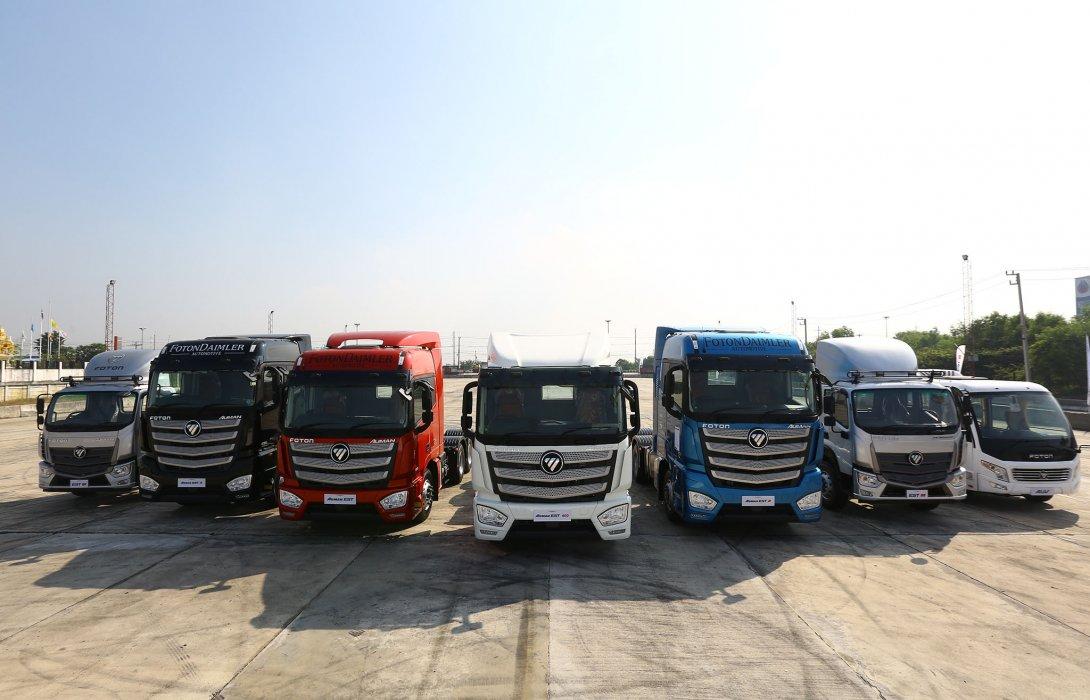 โฟตอน ปักหมุดลุยตลาดขนส่งไทย <br> ส่งรถหัวลากใหม่ อวดวงการโลจิสติกส์