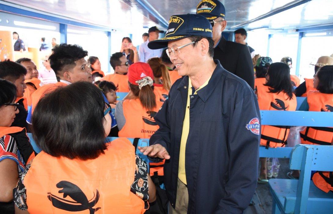 กรมเจ้าท่า ตรวจความปลอดภัยท่าเทียบเรือทั่วประเทศ