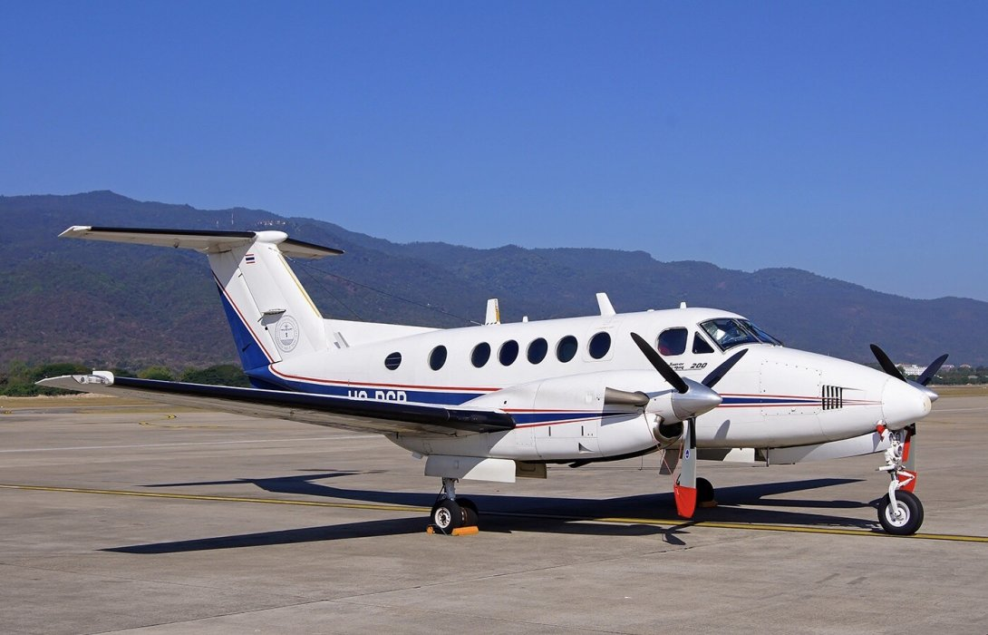 วิทยุการบินฯ มอบโอนอากาศยาน Super King Air 200 ให้สถาบันการบินพลเรือน