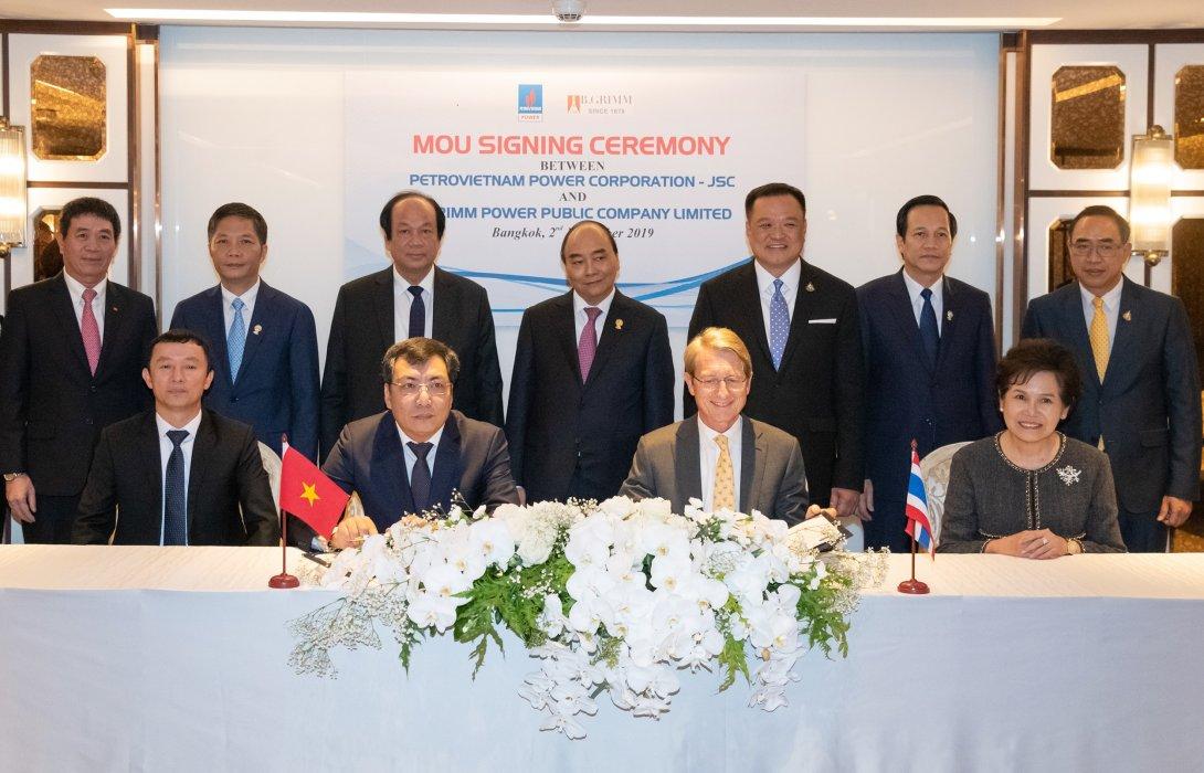 BGRIM-Petrovietnam Power จับมือพัฒนาสร้างโรงไฟฟ้าใช้ LNG เป็นเชื้อเพลิง