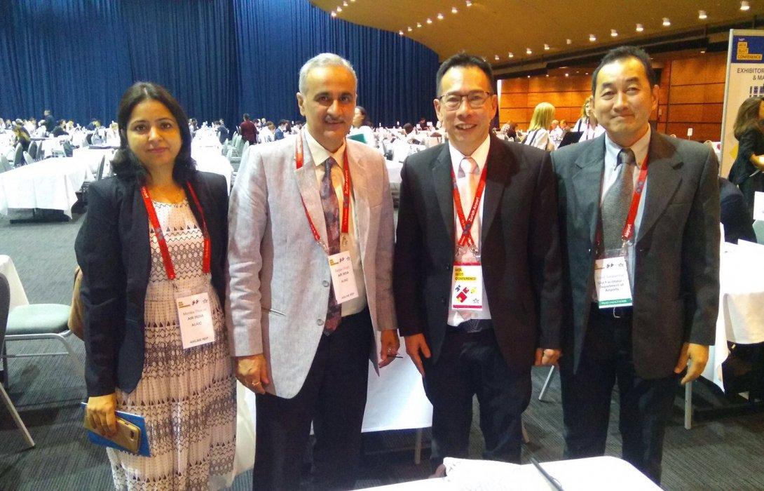 กรมท่าอากาศยานเข้าร่วมเจรจาเที่ยวบินฤดูร้อนในการประชุม IATA Slot Conference ครั้งที่ 145 ณ เมืองบริสเบน ประเทศออสเตรเลีย