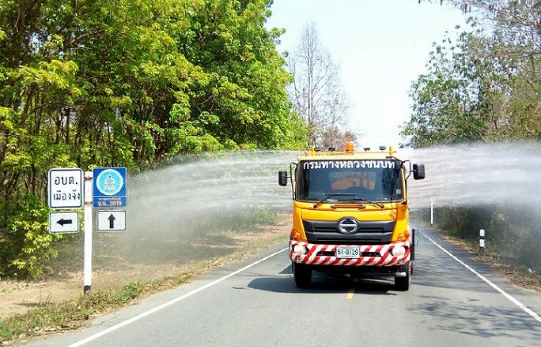 กรมทางหลวงชนบท เข้มงวดต่อเนื่องรับมือ PM 2.5