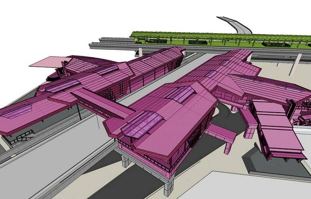 """บีทีเอส พร้อมเปิดให้บริการ 4 สถานีใหม่   """"สถานีวัดพระศรีมหาธาตุ"""" จุดเชื่อมต่อโมโนเรลสายสีชมพู"""