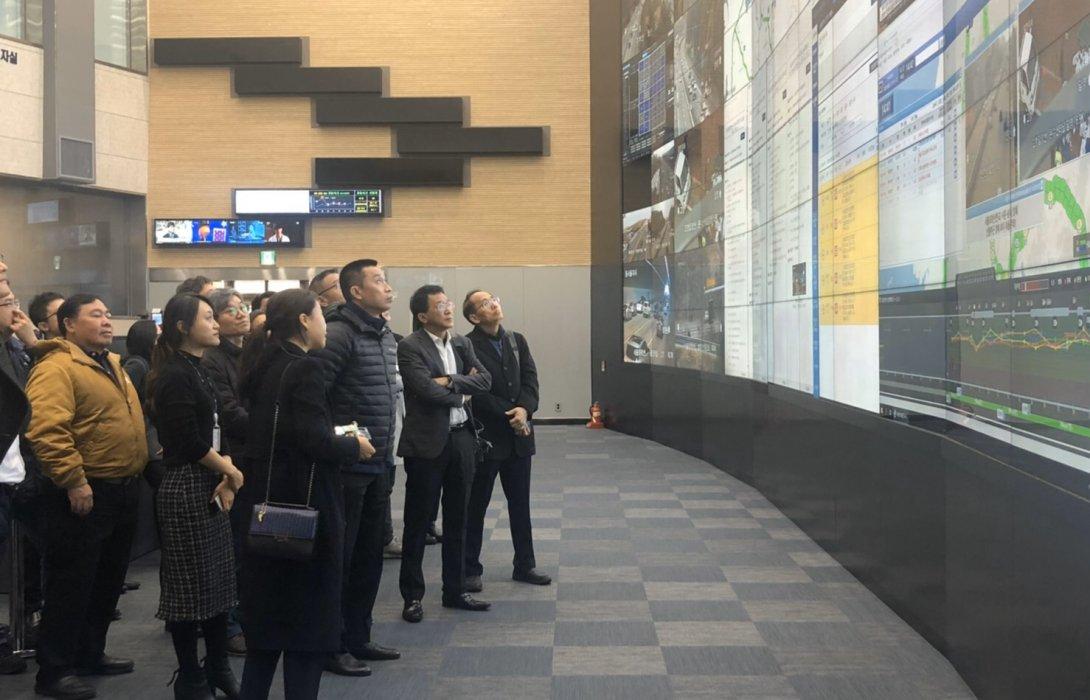 คมนาคม เยี่ยมชมเทคโนโลยีอัจฉริยะด้านการจัดการจราจรเกาหลีใต้