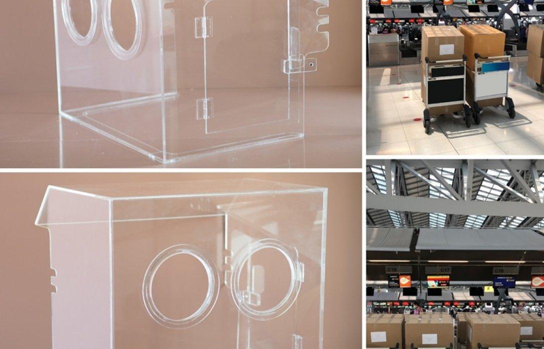 ไทยสมายล์ สนับสนุนขนส่งอุปกรณ์ทางการแพทย์ Clear Box แก่โรงพยาบาลทั่วประเทศ