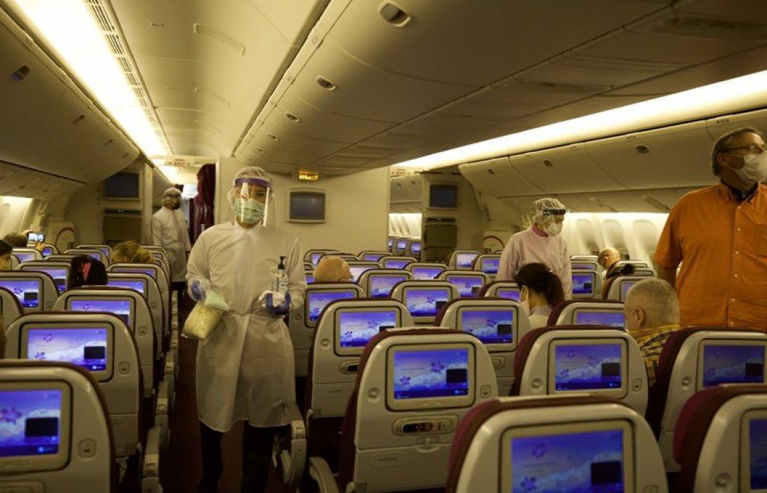 การบินไทยรับคนไทยจากออสเตรเลียกลับบ้าน