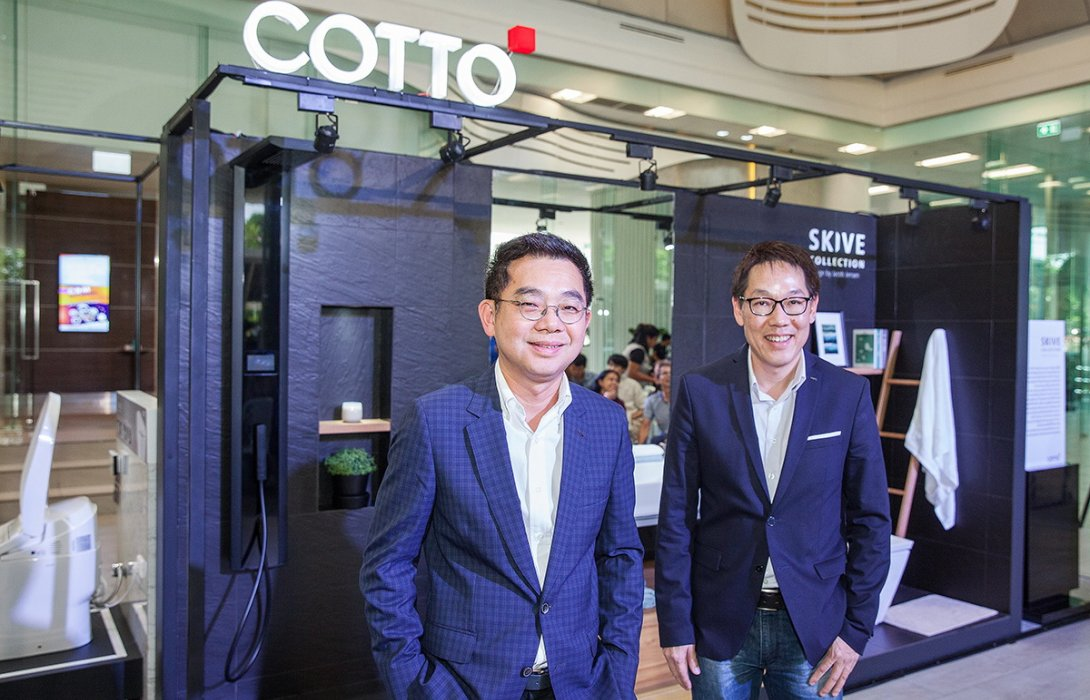 COTTO ชู Global Collaboration จับมือดีไซน์เนอร์ระดับโลก เจาะตลาดไฮเอนด์ พร้อมสร้างตลาด Smart Toilet