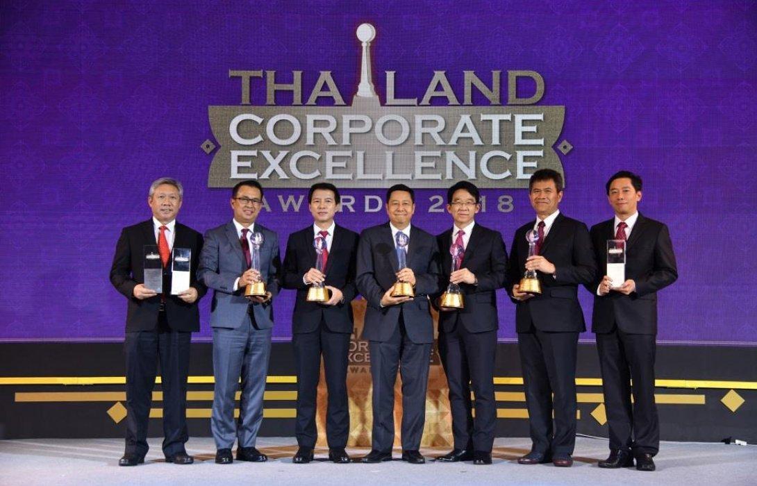 """เอสซีจี รับ 5 รางวัลความเป็นเลิศ และ 3 รางวัลดีเด่น""""Thailand Corporate Excellence Awards 2018"""""""