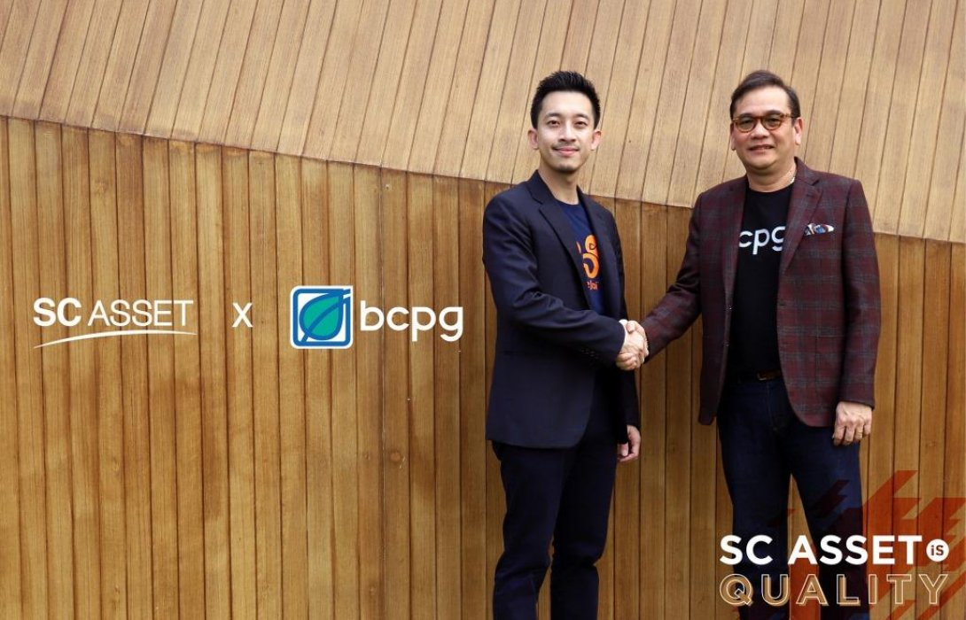SC ASSET x BCPG เปิดตัว'Sun Share Project'นำระบบ Solar Roof มาผลิตไฟฟ้าใช้ในบ้าน