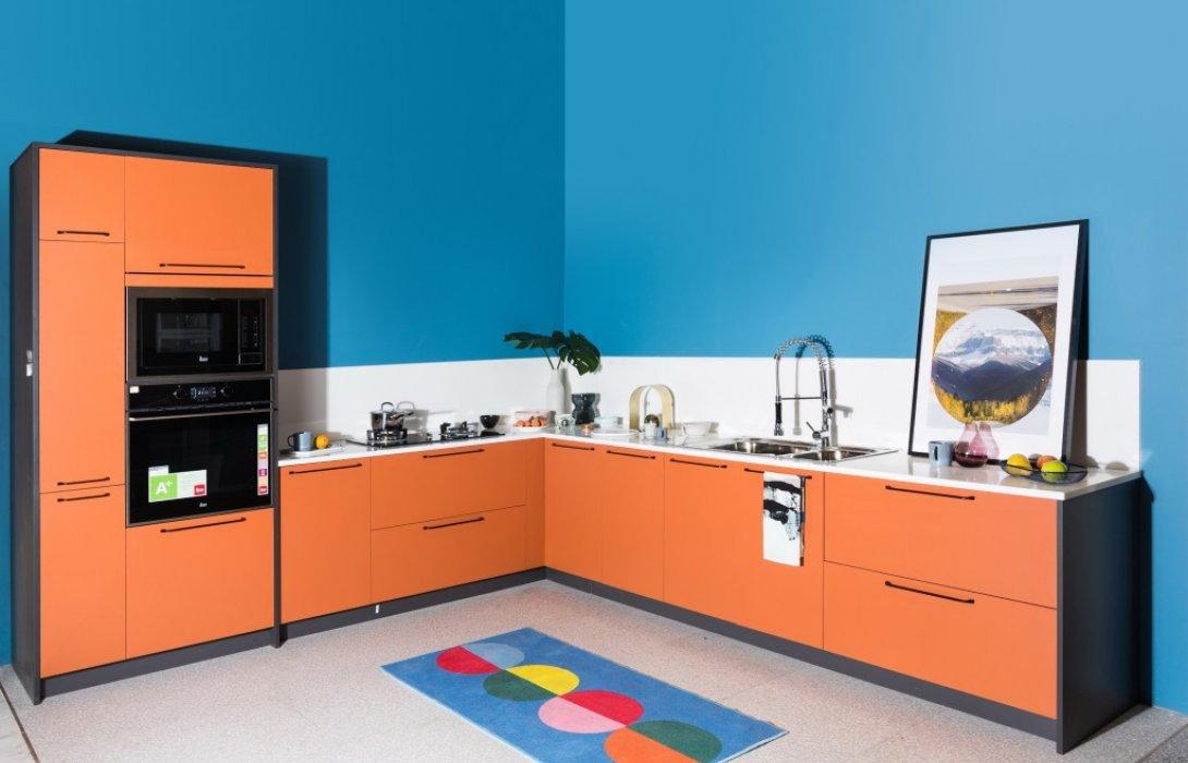 """แกรนด์โฮมเปิดตัวนวัตกรรมชุดครัว""""THE COMMON kitchen""""ครั้งแรกในงานบ้านและสวนแฟร์ 2019"""