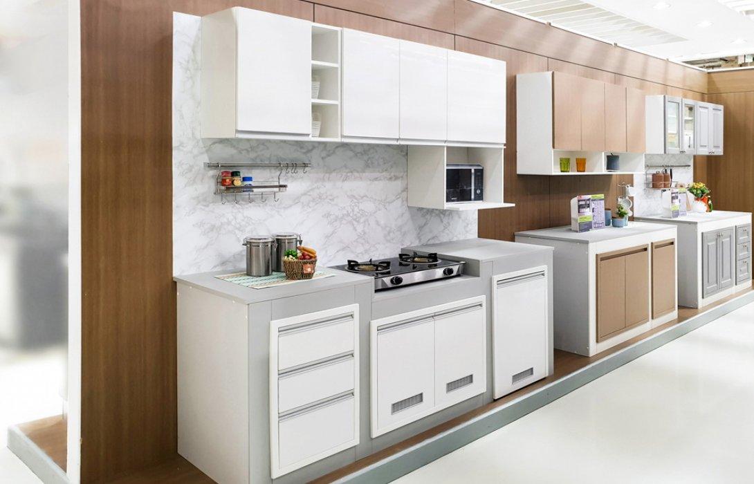 เนรมิตครัวสวย ดุจพื้นที่แห่งความสุข ด้วยหน้าบานมีสไตล์เพื่อชุดครัวปูน จากสตาร์มาร์ค
