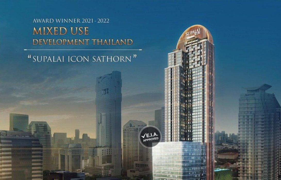 ศุภาลัย ไอคอน สาทร คว้ารางวัล Asia Pacific Property Awards 2021-2022