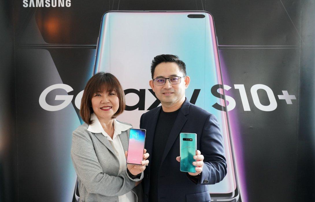 """""""ไทยซัมซุงฯ"""" ส่ง """"ซัมซุง กาแลคซี่ เอส 10""""    รุกตลาดสมาร์ทโฟนพรีเมี่ยม จับวัยมิลเลนเนียล"""