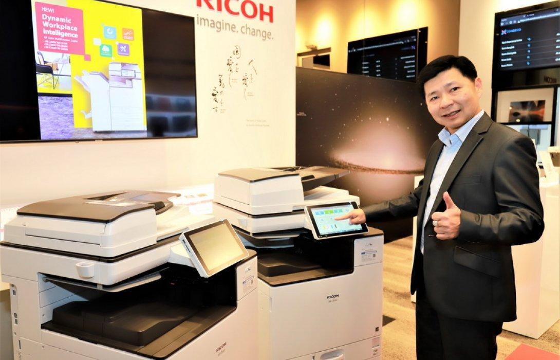 """""""ริโก้"""" ส่ง เครื่องถ่ายเอกสารมัลติฟังก์ชันสี A3 รุ่นใหม่ เจาะตลาดองค์กรยุคใหม่ มั่นใจดันยอดพันกว่าล้าน"""